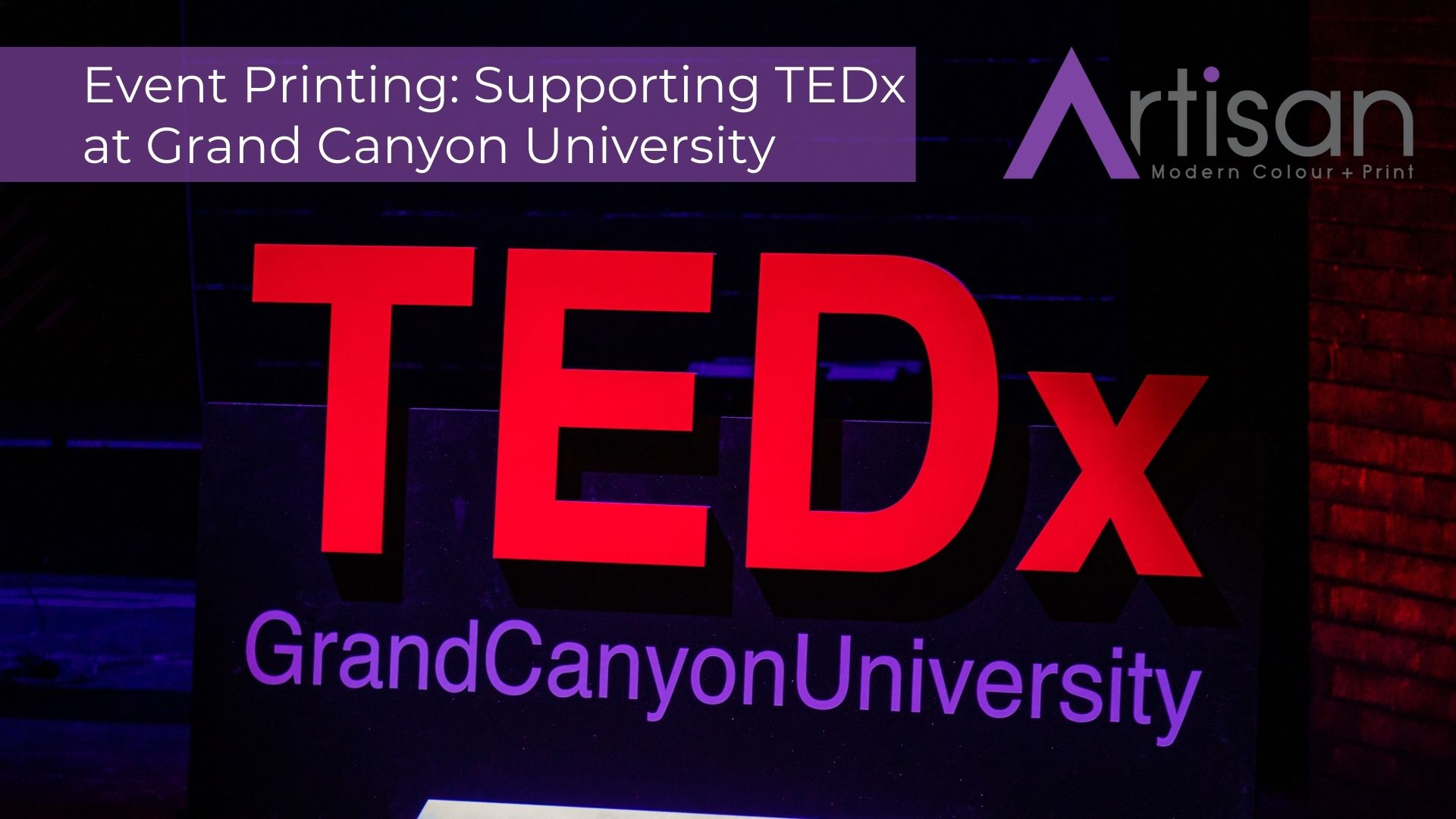 Artisan Colour Education Industry Video - TEDx