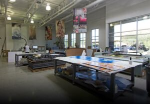 Artisan Colour Commercial Printing Company - Large Format production area