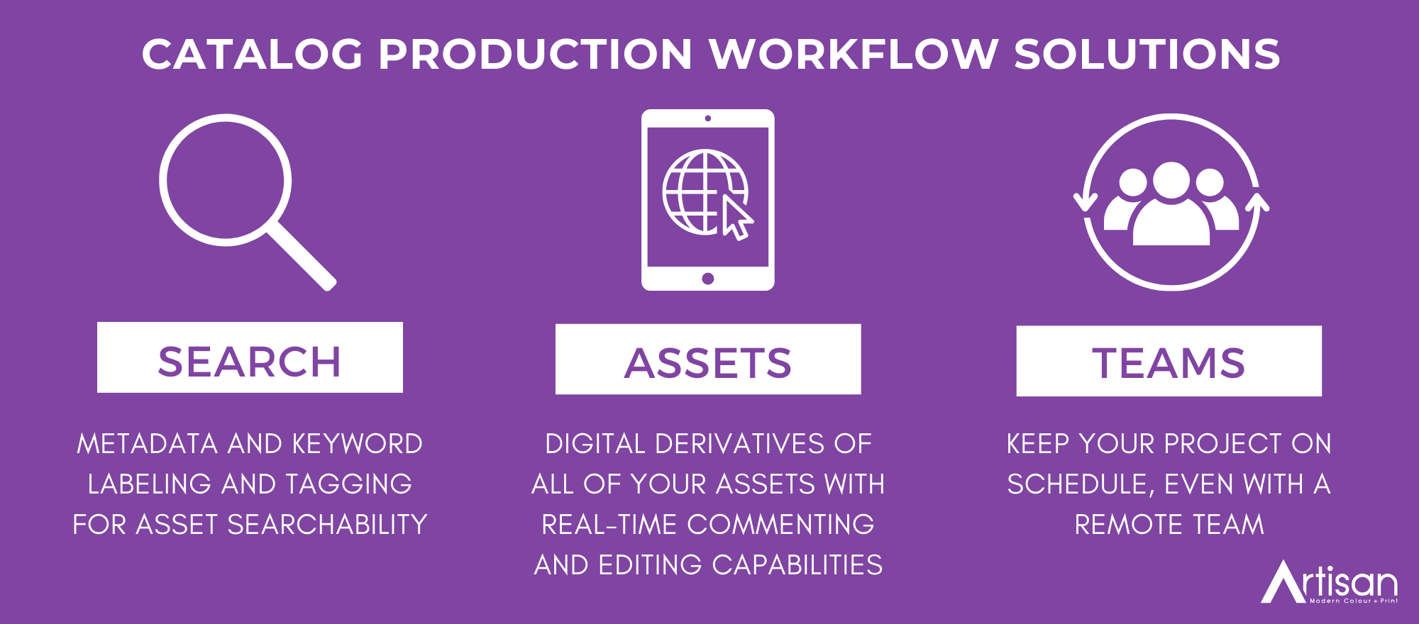 Catalog Workflow Solutions graphic